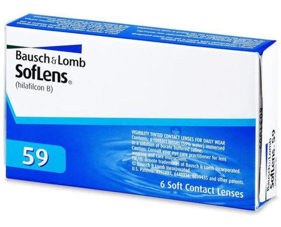 Lentes De Contacto 6 Pza Marca Bausch & Lomb (-0.25/-9.00)
