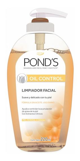 Limpiador Facial Ponds Oil Control Piel Normal Grasa 220ml