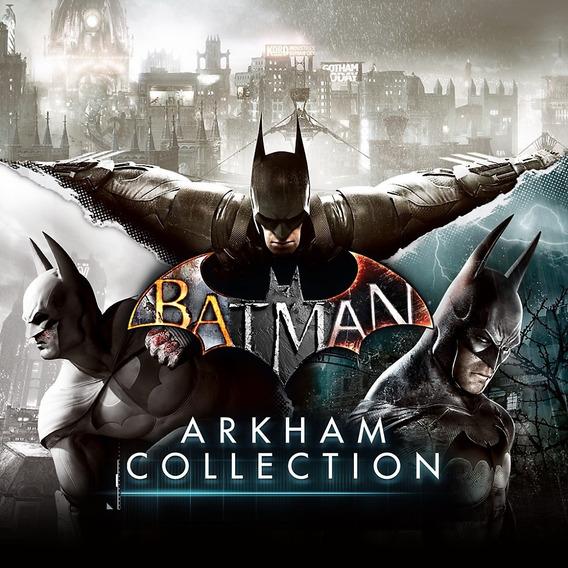 Batman Arkham (asylum + City + Oringins) Ps3 Psn Envio Já
