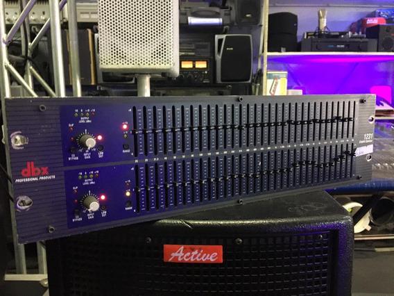 Equalizador Gráfico Dbx 2231v Stereo 31 Bandas 2 Canais