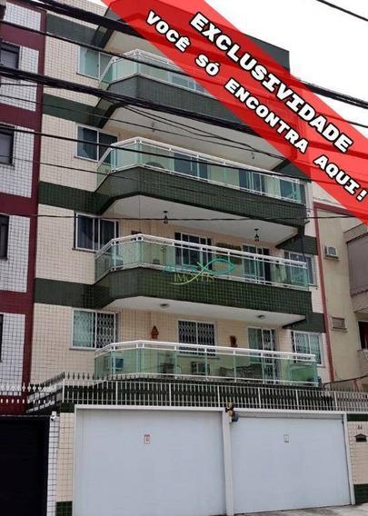 R$ 595 Mil - Apartamento Ao Lado Do Largo Do Bicão - 3 Qtos - Suíte - Closet - Varandão - Frente De Rua - Elevador - Garagem - 97m² - Ap1071