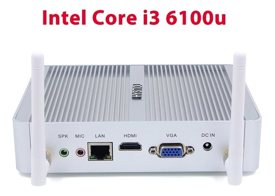 Mini Pc Intel Celeron N3150 Ddr3l 8gb Ram Ssd 64gb