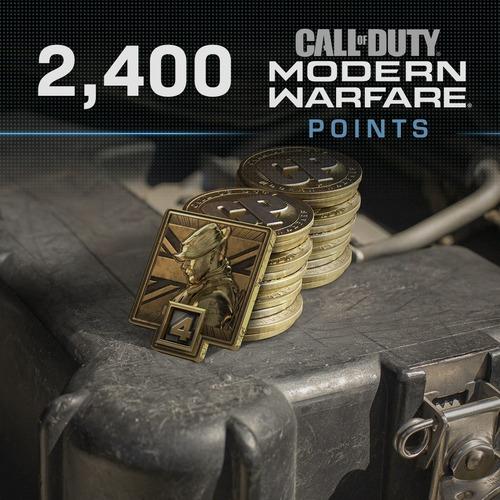 2.400 Cod Points Call Of Duty®: Modern Warfare® - Xbox One