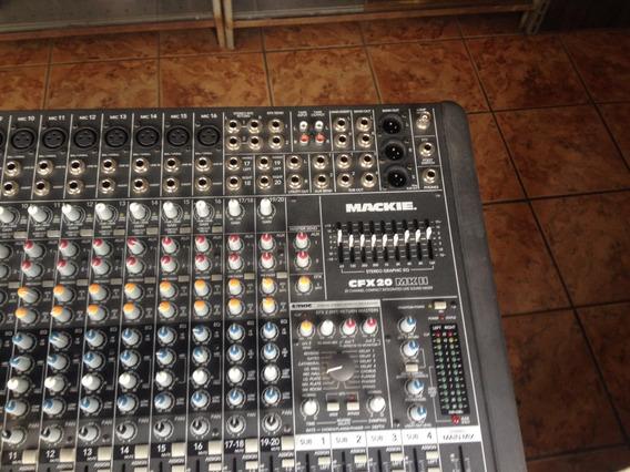 Mesa Mackie 20 Por 4 Canais Cfx20-mk2 Original