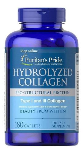 Imagen 1 de 2 de Colageno Hidrolizado Tipo I  Y Iii X 180 Capsulas
