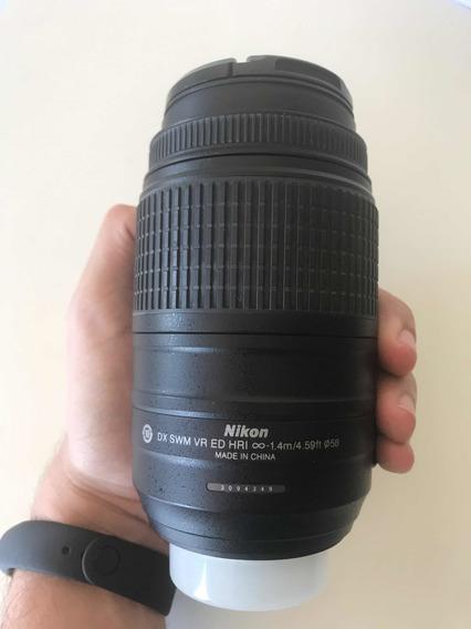 Lente Nikon 55-300mm