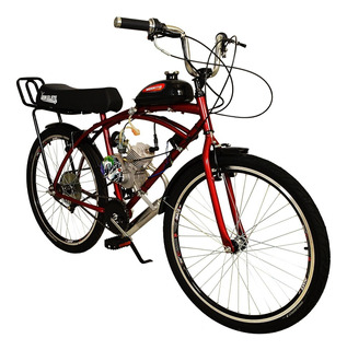 Bicicleta Caiçara Banco Xr Motorizada Moskito Aro26 Bikelete