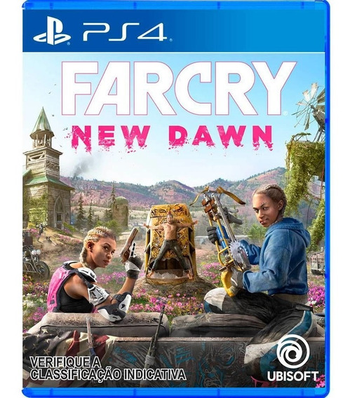 Jogo Far Cry: New Dawn Ps4 Mídia Física Nova Lacrada