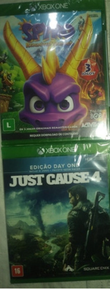 Spyro Trilogia Just Cause 4 Xbox One Midia Física Original