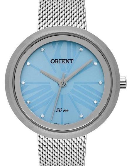 Relógio Orient Feminino Prata Fbss0075 A3sx