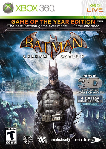Batman Arkham Asylum Goty - Xbox Fisico Nuevo