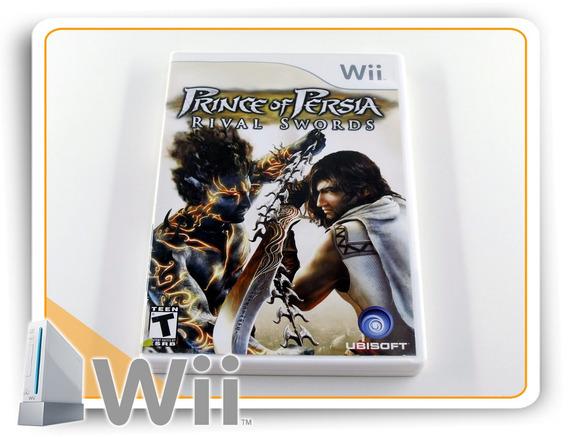 Prince Of Persia Rival Swords Original Nintendo Wii