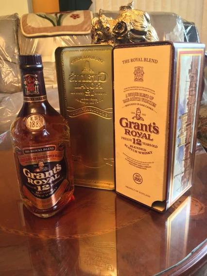 Whisky Grants Royal Botella Antigua