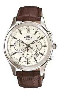 Reloj Casio Hombre Edifice Cuero Crono Efr517l-7a