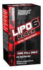 Lipo 6 Black Uc 60caps - Nutrex (fórmula Original)
