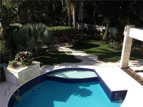 Casa Com 5 Dormitórios À Venda, 525 M² Por R$ 6.900.000,00 - Riviera - Módulo 4 - Bertioga/sp - Ca0043