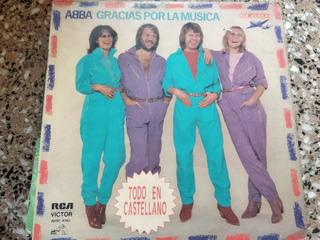 Disco Vinilo Abba Gracias Por La Musica (usado)