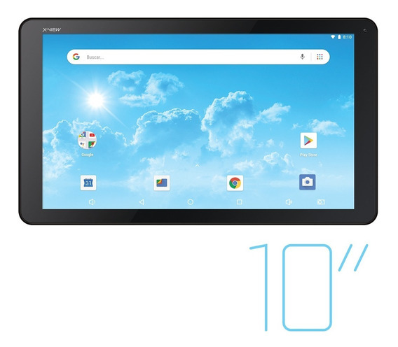 Tablet 10 Pulgadas X View Titanium Colors Android 8.1