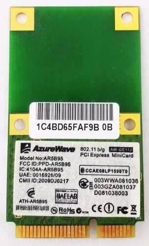 Placa Pci Wireless Notebook Ar5b95 Azurwave