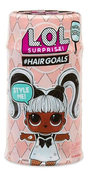 Boneca Lol Hairgoals 15 Surpresa Candide Novo