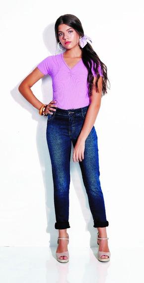Calça Jeans Skinny Feminino Meninas 01.1235
