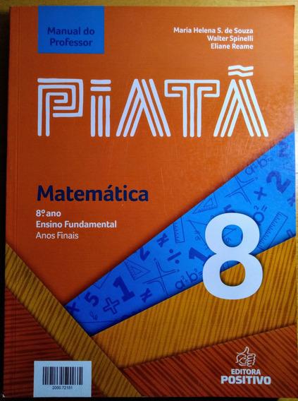 Piatã 8 Matemática Manual Professor
