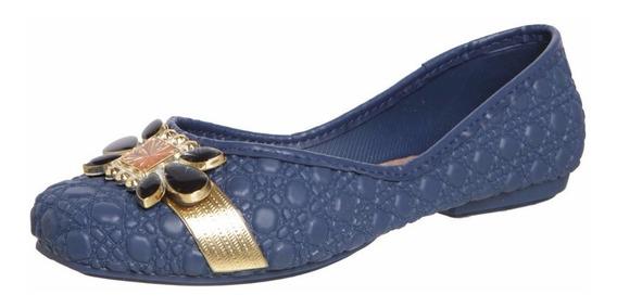 Sapatilha Feminina Cuore Sap Azul Grendha - 16840 Promoção!