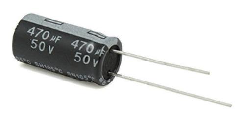 Imagen 1 de 2 de Capacitor Electrólitico 470uf X 50v X10 Unidades