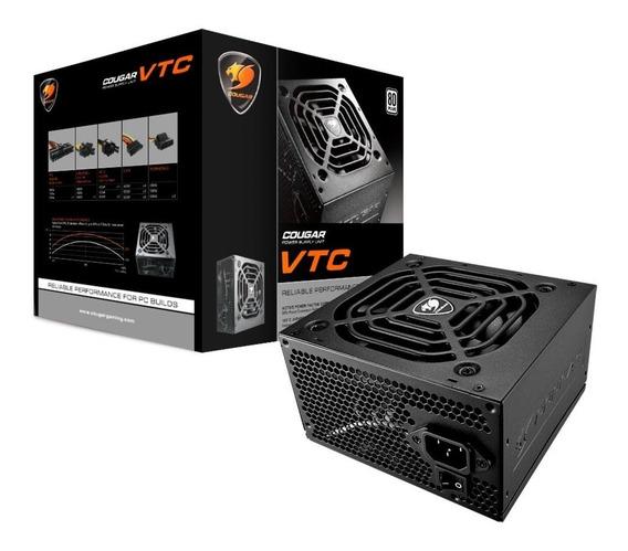 Fonte Atx Cougar Vtc500 500w 80 Plus White - 31vc050006p01