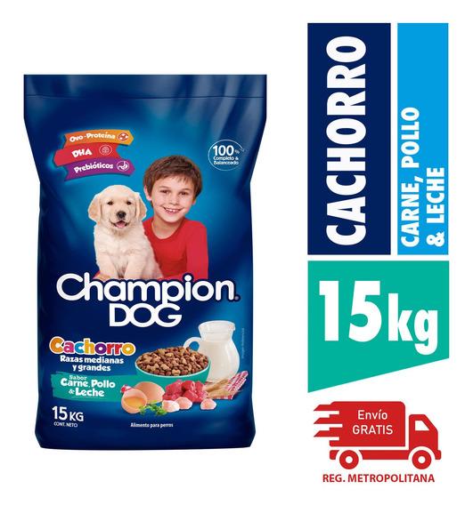 Alimento Perro Champion Cachorros C,p&l 15kg