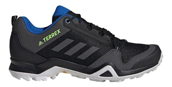 Zapatillas adidas Terrex Ax3 Negro/azul - Hombre Outdoor