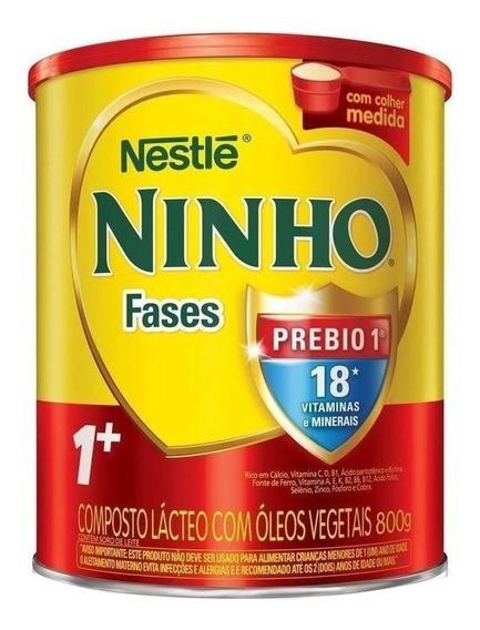 Fórmula infantil em pó Nestlé Ninho Fases 1+ em lata de 800g