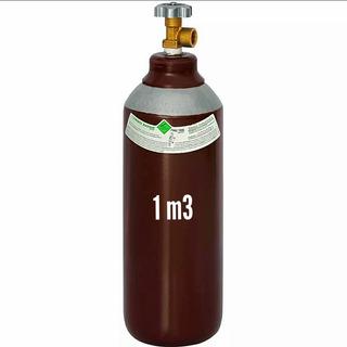 Cilindro Para Solda Mig 1m3 7lts (argônio+co2)