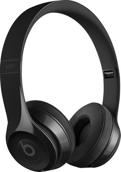 Headphones Beats Solo 3 Wireless Original-gloss Black-novo