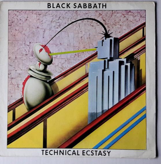 Lp Black Sabbath/technical Ecstasy/1984/bom Estado.