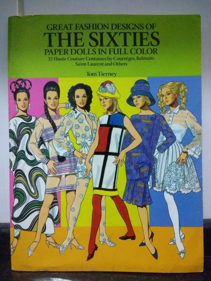 Livro De Moda - Great Fashions Design Sixties [inglês] Rjhm