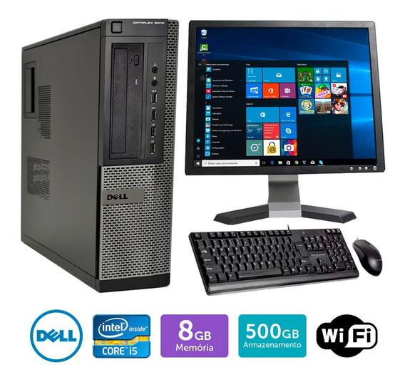Pc Usado Dell Optiplex 9010int I5 8gb 500gb Mon19q Brinde