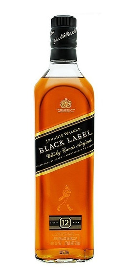 Whisky Johnnie Walker Etiqueta Negra 750 Ml.