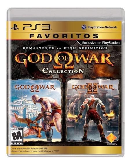 Jogo Midia Fisica God Of War Collection Original Para Ps3