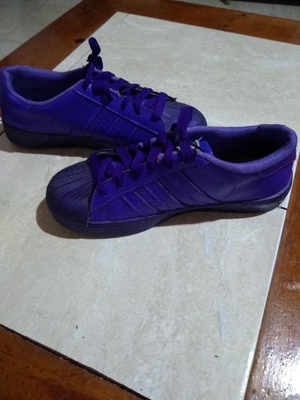 Zapatillas adidas Superstar Violetas