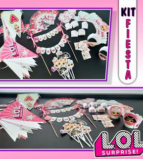 Kit De Fiesta, Cumpleaños, Evenetos Personalizados