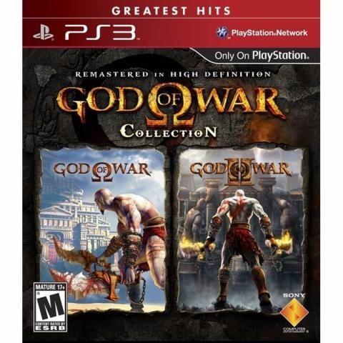 Jogo Ps3 God Of War Collection Greatest Hits Novo Original