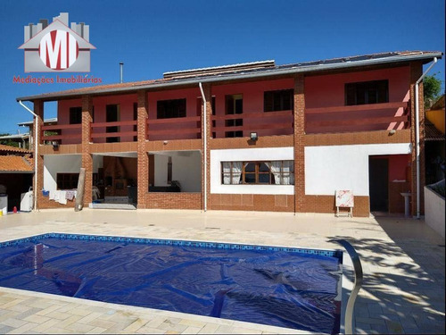 Chácara Maravilhosa Com 7 Dormitórios, Piscina, Pomar, Horta, À Venda, 1000 M² Por R$ 870.000 - Zona Rural - Pinhalzinho/sp - Ch0749