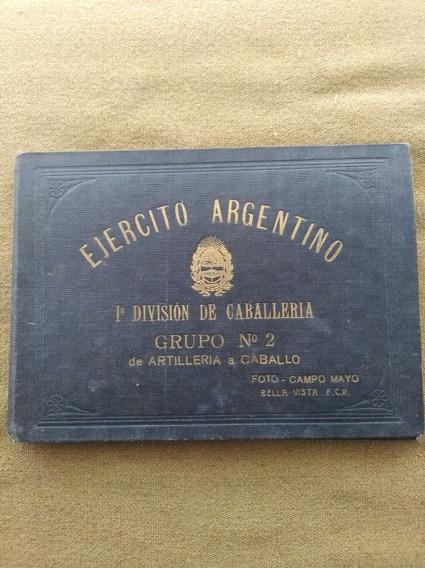 Ejército Argentino 1ra. Div. De Caballería 1934