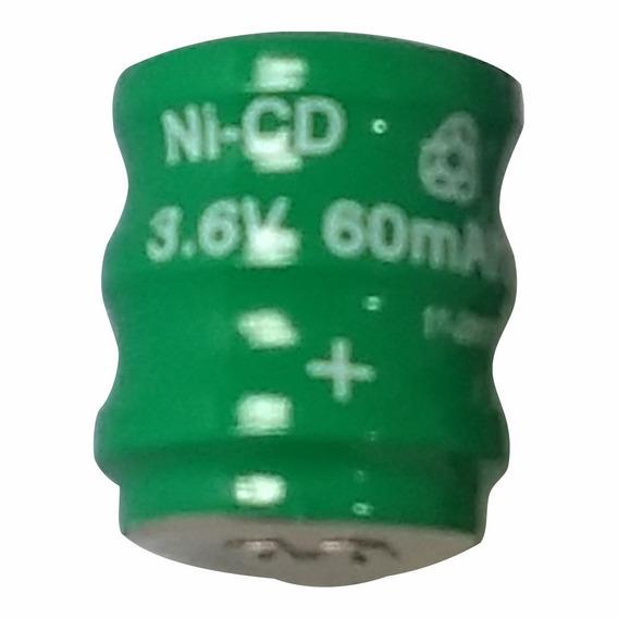 Bateria Pilha 3,6v 60mah Recarregável