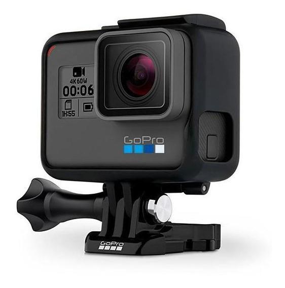 Câmera De Ação Gopro Hero 6 Black 12mp 4k Com Wi-fi E ...