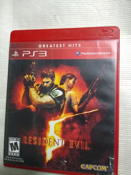 Resident Evil 5 Ps3 Mídia Física