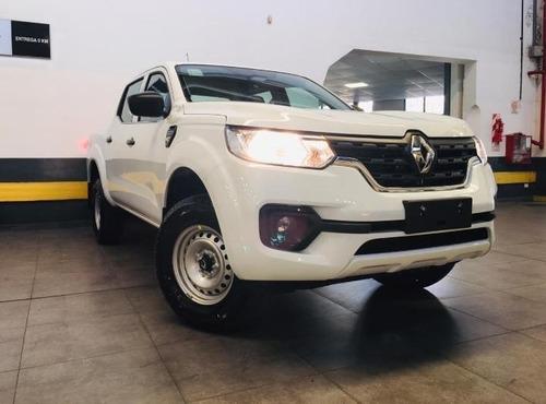 Renault Alaskan Confort 4x2 Entrega Pactada En Cuota 3 (lf)