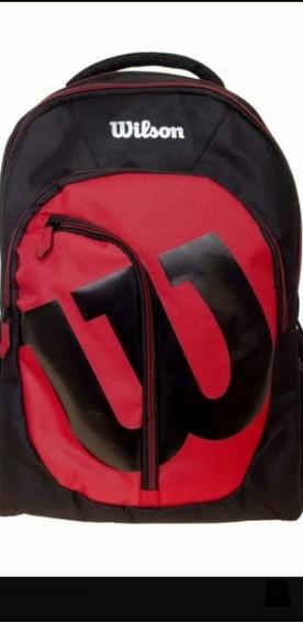 Mochila Wilson Mc 20009 Vermelha/?preto.
