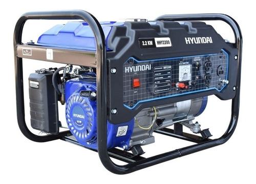 Imagen 1 de 2 de Generador portátil Hyundai HHY2200 2200W monofásico 110V